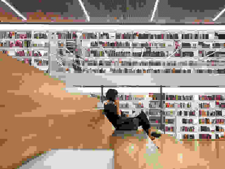 Livraria Cultura Casas modernas por Studio MK27 Moderno