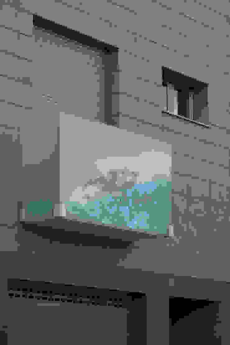 Vivienda unifalimiar adosada. Casas de estilo moderno de AUREA ARQUITECTOS Moderno