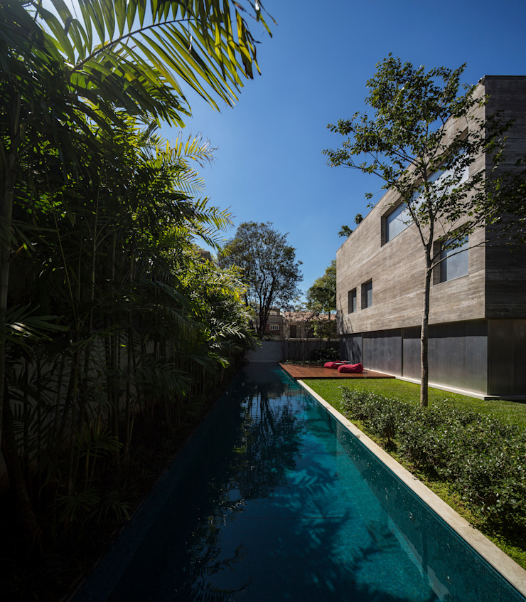 現代房屋設計點子、靈感 & 圖片 根據 Studio MK27 現代風