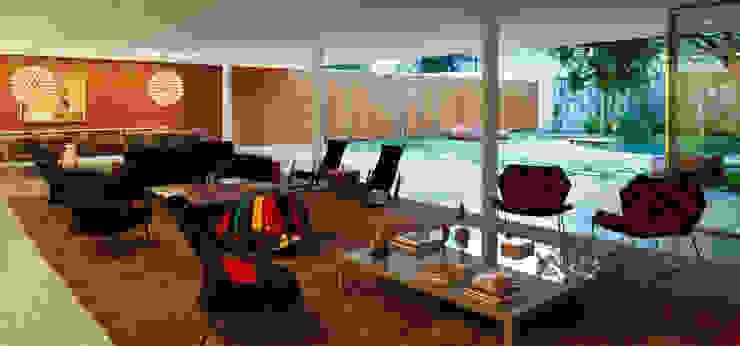 Cobogó House Casas modernas por Studio MK27 Moderno