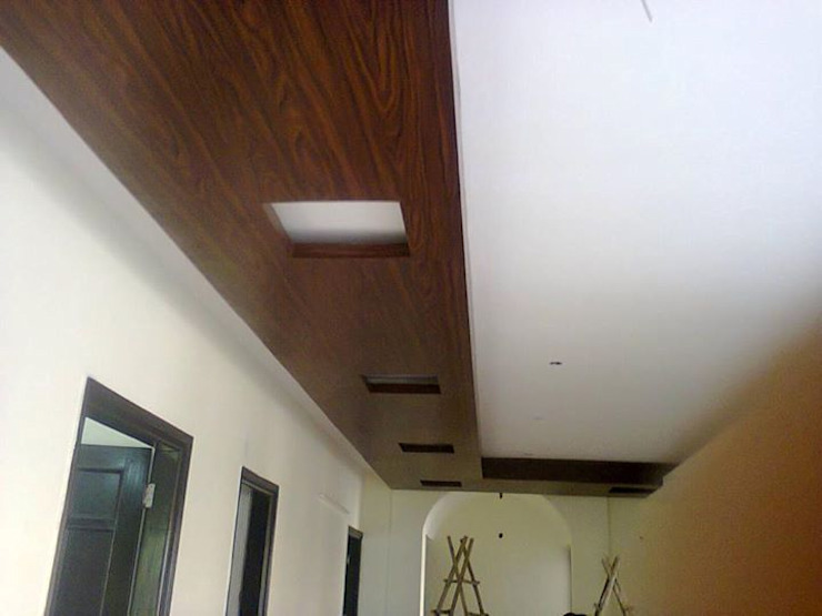 Wooden Films Concepts with Different Module: modern  by Floor2Walls,Modern