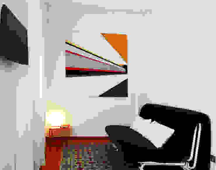 The Red 2 at Barceloneta Casas de estilo mediterráneo de Castillo|martinez Mediterráneo