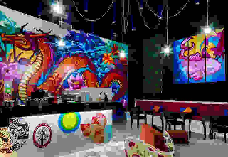 Cassava Roots© Veracruz Gastronomía de estilo ecléctico de Taller ADC Architecture Office Ecléctico