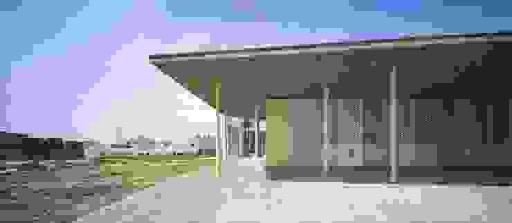 Entrada principal Espacios de gabriel verd arquitectos