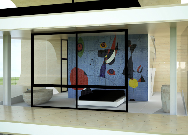 OLAS! Casas de estilo minimalista de Víctor Lusquiños. Arquitecto Minimalista