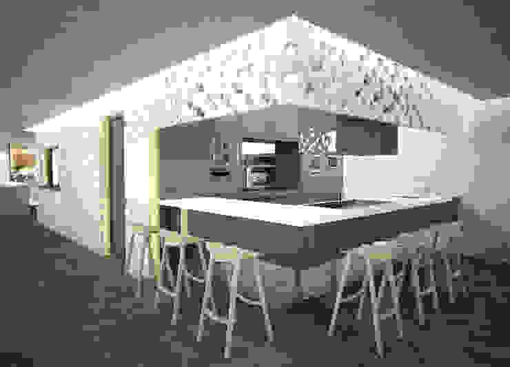 THE FOREST Gastronomía de estilo moderno de Víctor Lusquiños. Arquitecto Moderno