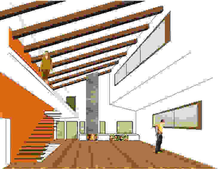 Vivienda unifamiliar en El Espinar Casas de Ear arquitectura