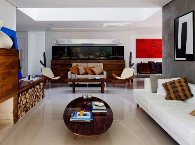 Mirante do Horto Casas modernas por FCstudio Moderno