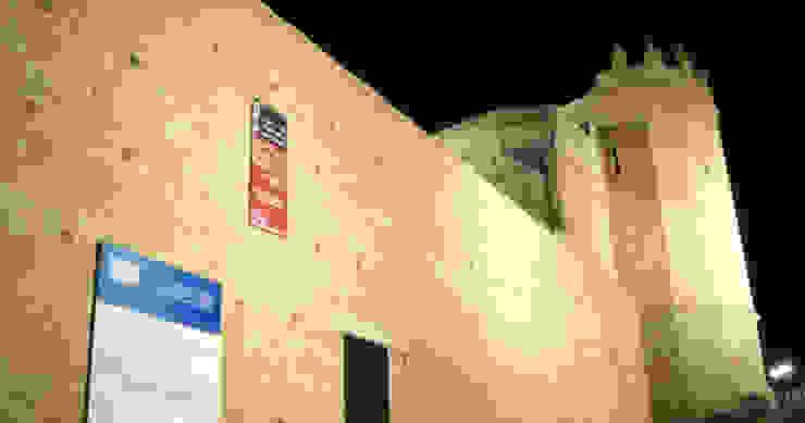 Iluminación puerta San Andrés, muralla de Segovia Museos de Ear arquitectura