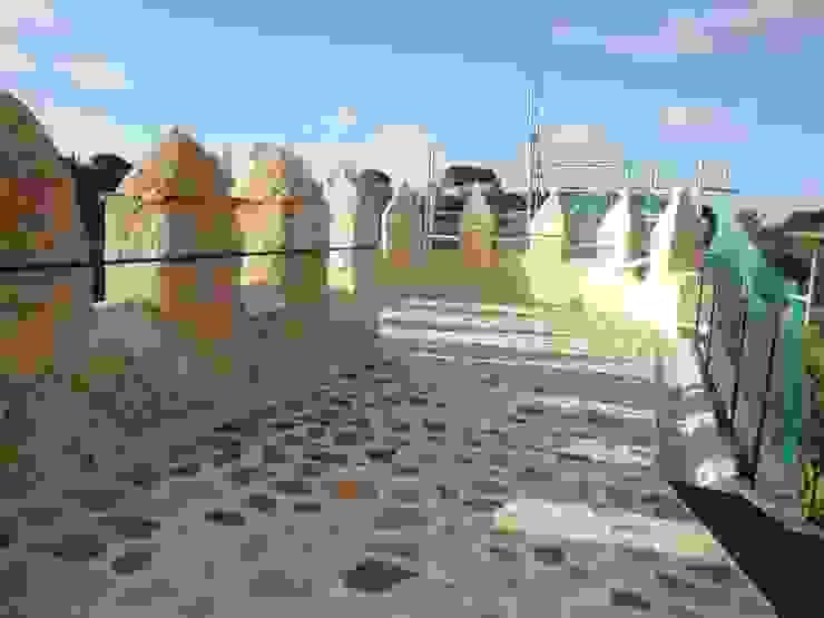 Rehabilitación puerta de San Andrés, muralla de Segovia. Museos de Ear arquitectura