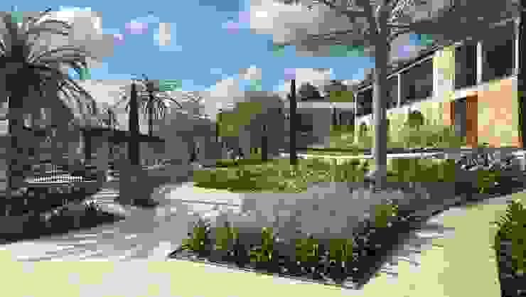 Proyecto 3D Jardines de Realistic-design