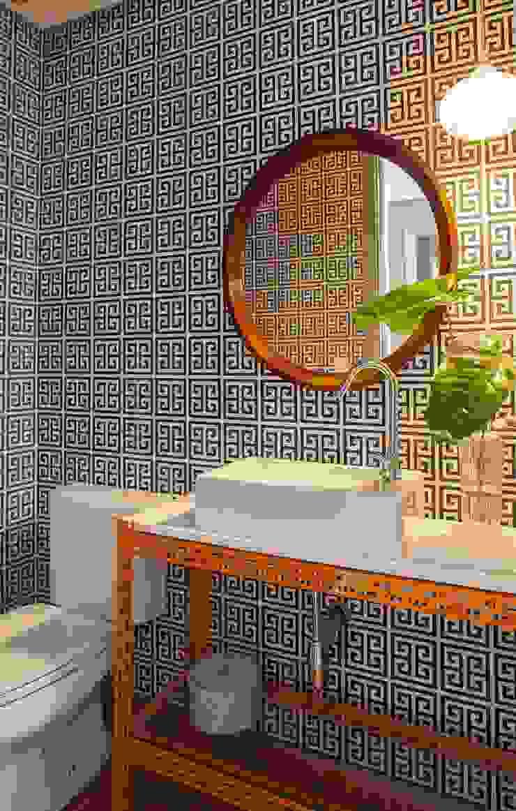 Baños de estilo ecléctico de Mauricio Arruda Design Ecléctico