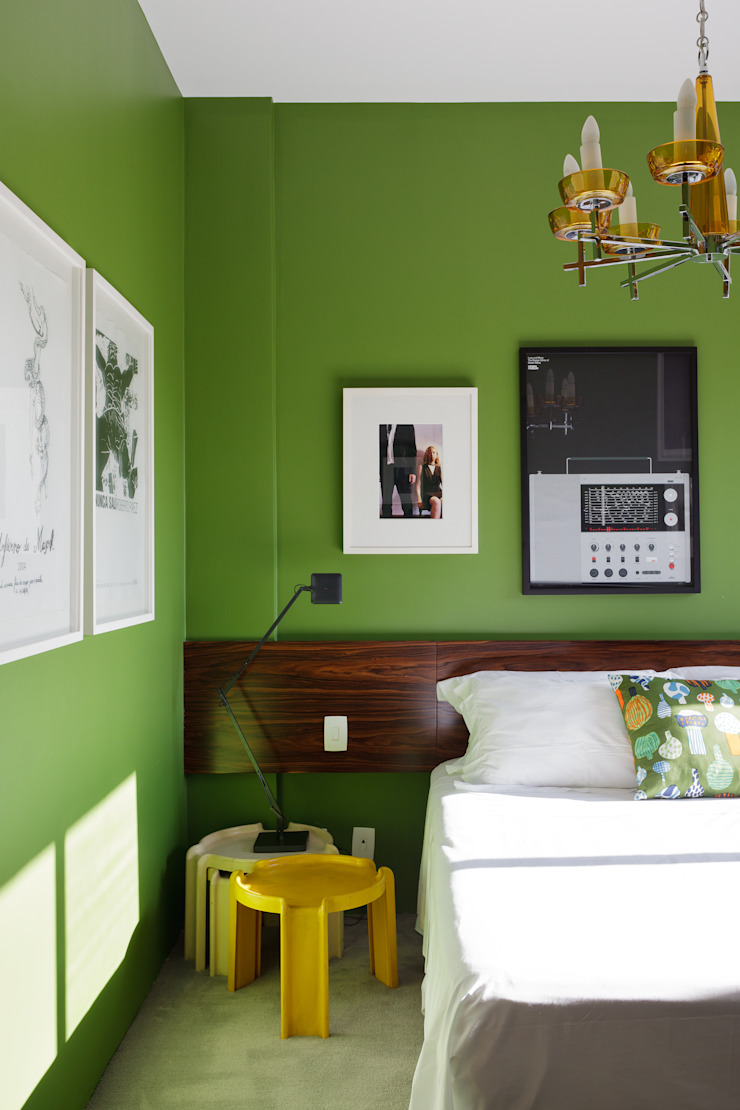 Eclectic style bedroom by Mauricio Arruda Design Eclectic