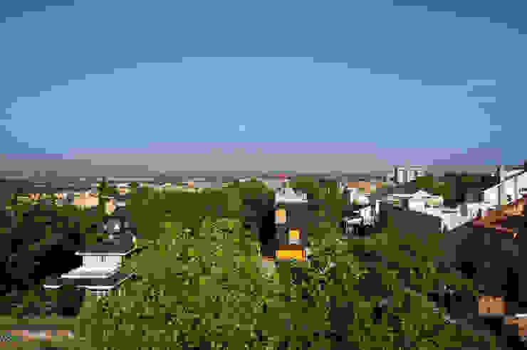 panorama Casas de estilo minimalista de hollegha arquitectos Minimalista