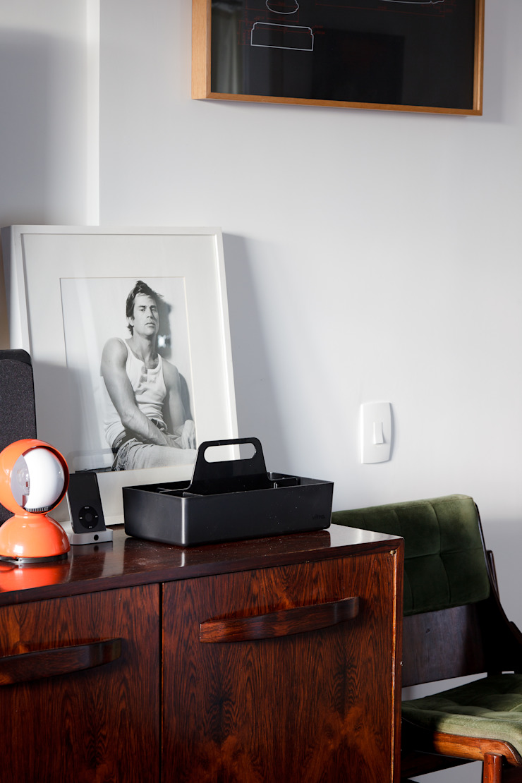 Kamar Tidur Gaya Eklektik Oleh Mauricio Arruda Design Eklektik