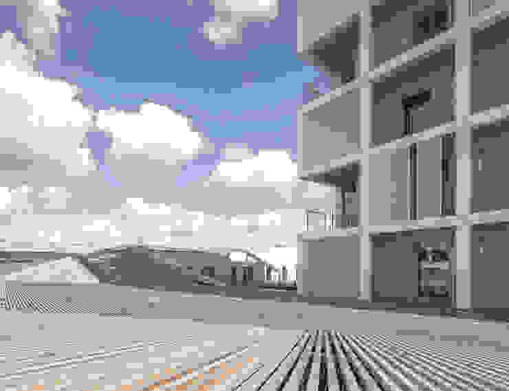 Oiseau des Iles, logements et commerce par ANTONINI DARMON architects