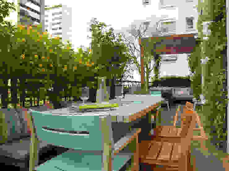 庭院 根據 Gigi Botelho Paisagismo