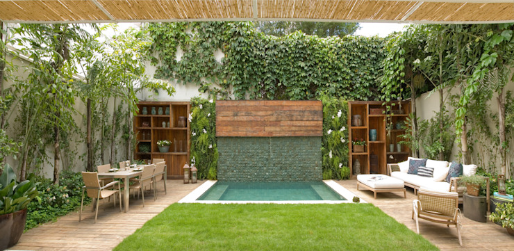 Garden design ideas by Gigi Botelho Paisagismo