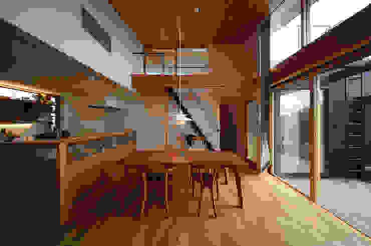 ライトハウス オリジナルデザインの ダイニング の 建築設計事務所 住記屋 オリジナル