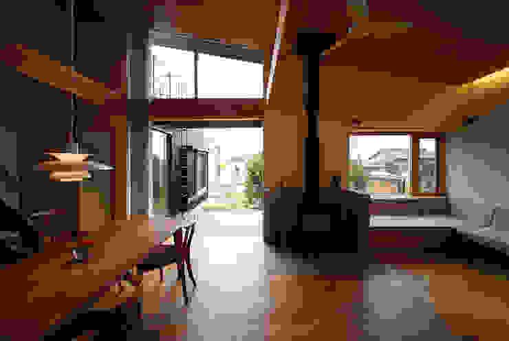 ライトハウス オリジナルデザインの リビング の 建築設計事務所 住記屋 オリジナル