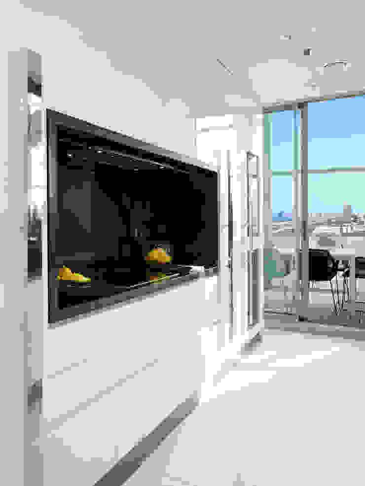 El mar en casa Cocinas de estilo mediterráneo de Molins Design Mediterráneo