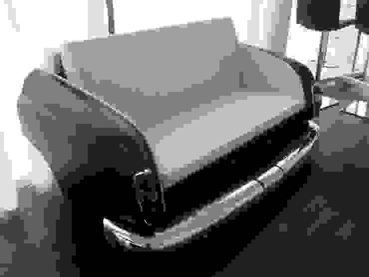 Mercedes Ponton Bett-Sofa Schlafzimmer von Automöbeldesign
