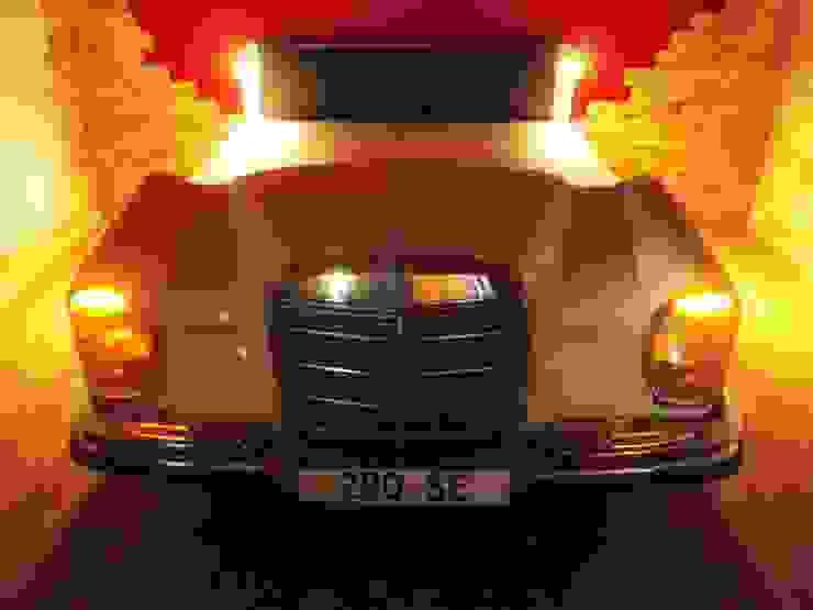 Mercedes W 108 Bett Schlafzimmer von Automöbeldesign