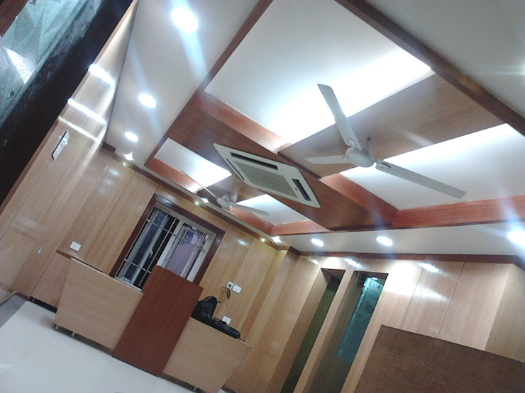 HITECH Group Corp. office bbs.: modern  by NAQSHA Design Solutions,Modern