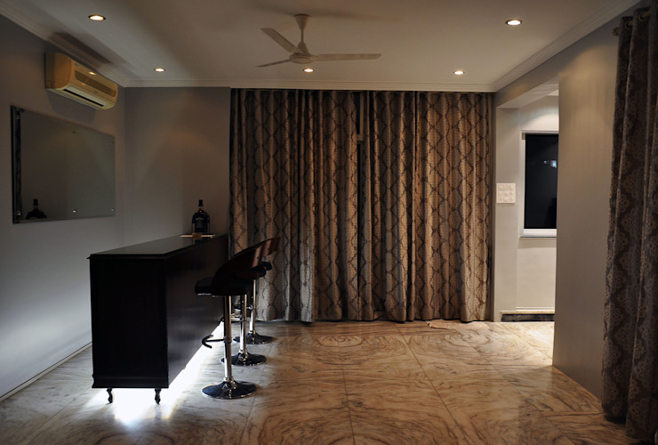 Residence at Altamount Road Rooms by Dhruva Samal & Associates