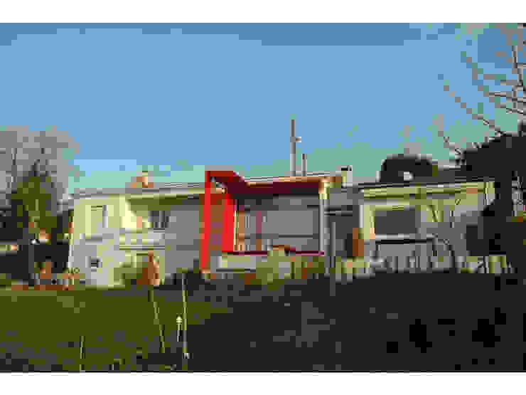 Gazonfier Maisons modernes par guillaume payeur architecte Moderne