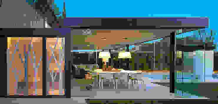 Salón semi exterior Jardines de Molins Design