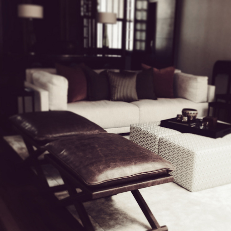 living room Eclectic style living room by elliot James Pte Ltd Eclectic