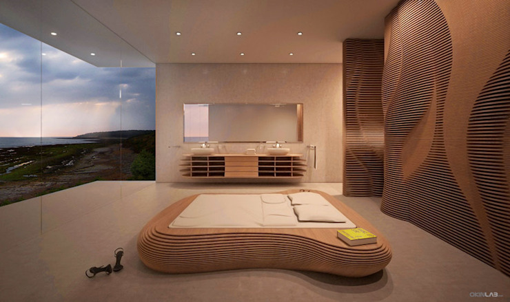 Bedroom by form.bar, Modern