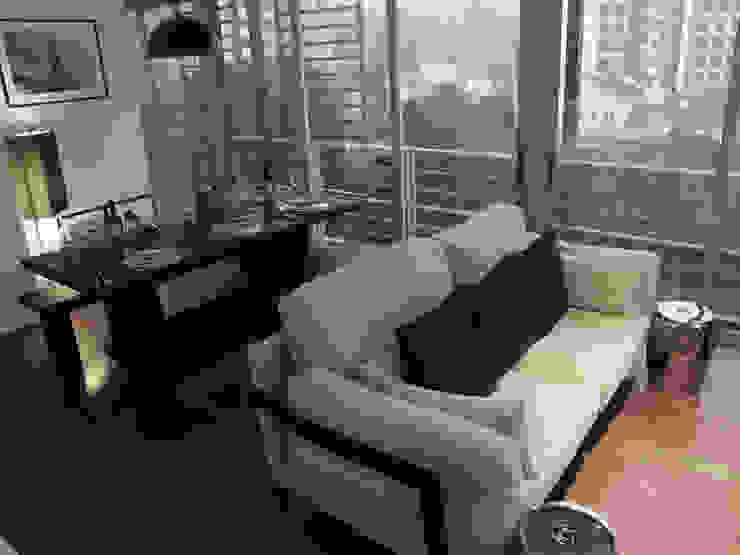 Living / ding room Modern living room by elliot James Pte Ltd Modern