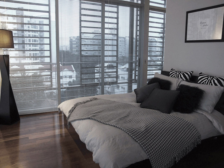 Bedroom Modern living room by elliot James Pte Ltd Modern