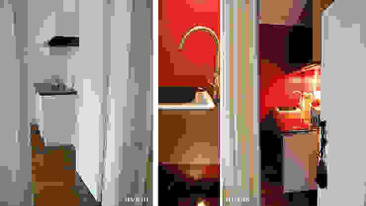Appartement Bohème Cuisine originale par Harfang Decoration Éclectique