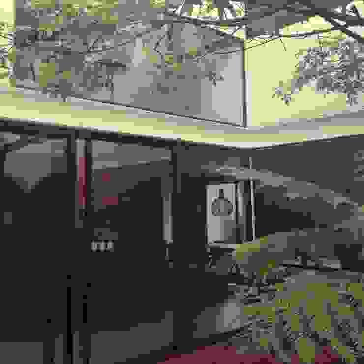 CASA VILLA PALMAS Jardines modernos de DA:HAUS Moderno