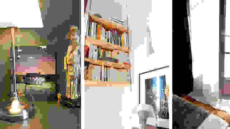 Appartement Bohème Chambre originale par Harfang Decoration Éclectique