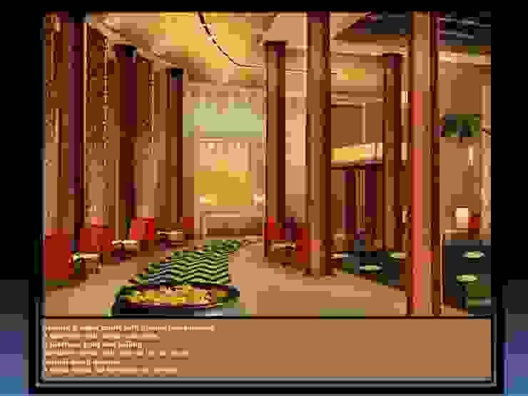 Interiors Tropical style balcony, veranda & terrace by Design oltre Orizzonte Tropical
