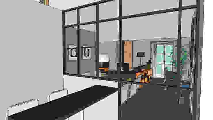 Maison <q>Atelier</q> Maisons industrielles par Harfang Decoration Industriel