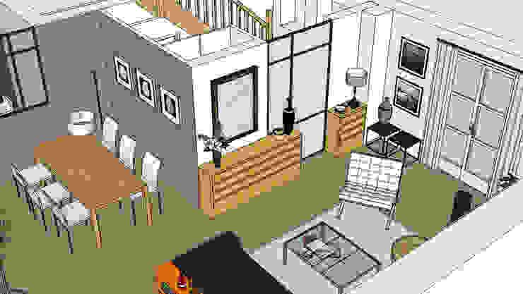 """Maison """"Atelier"""" Maisons industrielles par Harfang Decoration Industriel"""