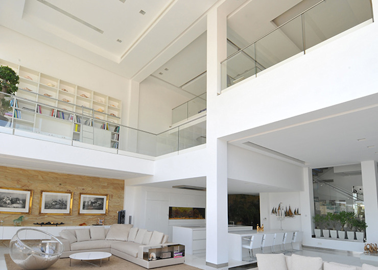 Salones de estilo moderno de Lo Studio Mammini Candido Moderno