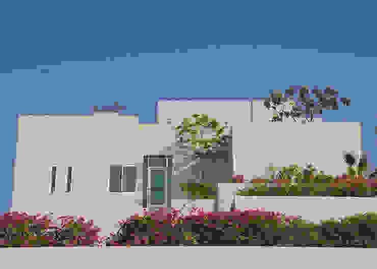 Terrazzi verdi nel deserto Case moderne di Lo Studio Mammini Candido Moderno