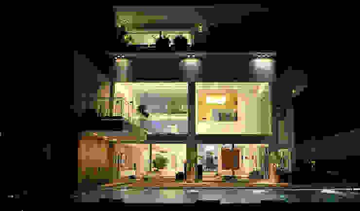 Nowoczesne domy od Lo Studio Mammini Candido Nowoczesny