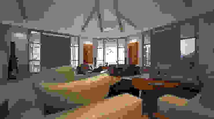 Villa Joà_zona living di Emanuele Pillon Architetto Moderno