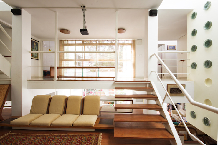 the bridge: modern  by Gaurav Roy Choudhury Architects,Modern