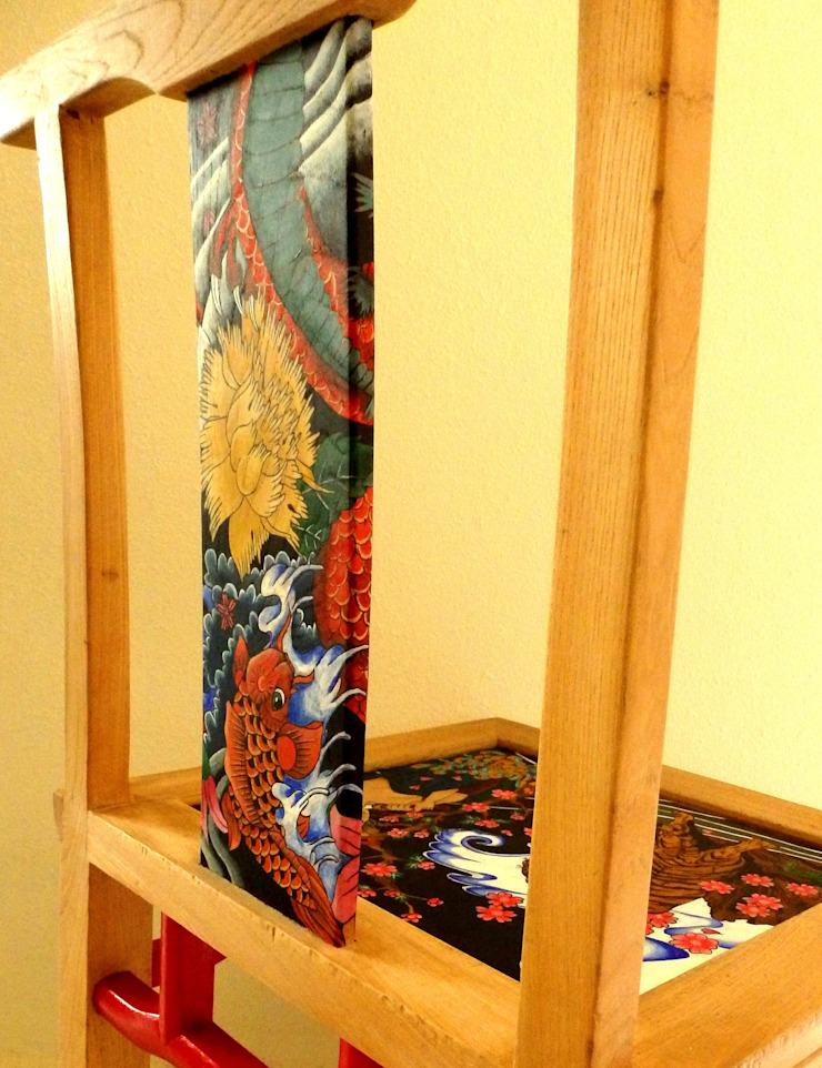 Yakuza chair by Art From Junk Pte Ltd