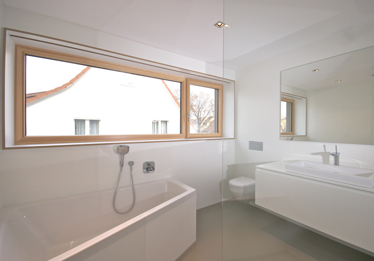 Ванная комната в стиле модерн от Udo Ziegler | Architekten Модерн