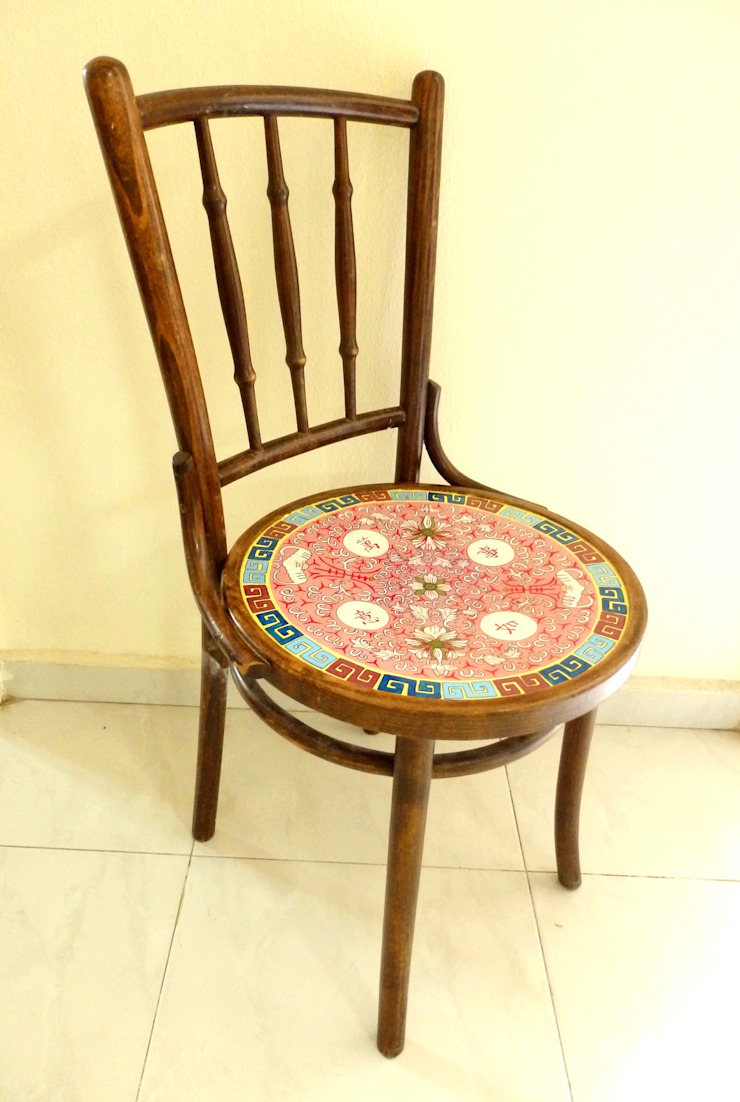 Kopitiam chair by Art From Junk Pte Ltd
