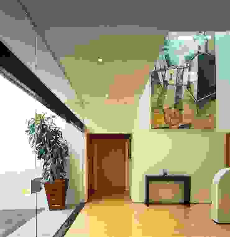 Casa Feryvale, 2006 Pasillos, vestíbulos y escaleras modernos de Taller Luis Esquinca Moderno